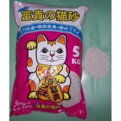<<穿袋>> 富貴貓砂-薄荷香抗菌碎砂 (A-1) 5KG