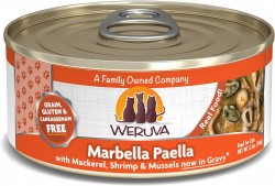 Weruva Marbella Paella 鯖魚片+魷魚圈+海蝦+青口 貓罐頭 5.5oz