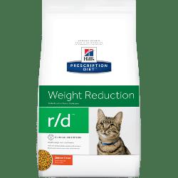 [凡購買處方用品, 訂單滿$500或以上可享免費送貨]  Hill's r/d 減肥配方 獸醫配方 貓乾糧 4磅