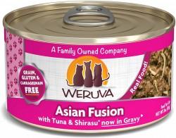 Weruva Asian Fusion 紅肉吞拿魚+幼鯷魚 貓罐頭 3oz
