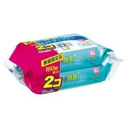 日本獅王 LION Pet 寵物清潔除菌濕紙巾 80片×2包裝