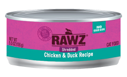 RAWZ 雞胸肉絲+鴨肉絲 主食罐 3oz