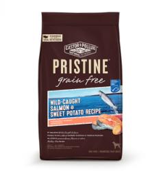Pristine 野生捕撈三文魚及甜薯配方 無穀物全犬乾糧 4磅