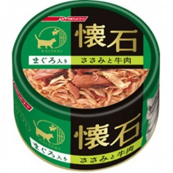 懷石吞拿魚+雞肉+牛肉 80g K21
