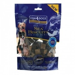 Fish4Dogs 鮮魚皮餅乾 (小粒) Sea Biscuits Tiddlers FF 100g