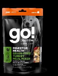 GO! SOLUTIONS 消化保健系列 無穀物 火雞 零食補充裝 狗糧配方 3.5oz 到期日: 3/12/2020