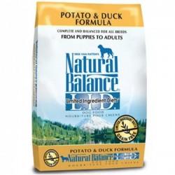 Natural Balance 無穀抗敏薯鴨狗糧4.5磅