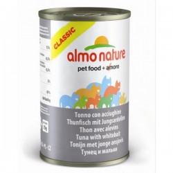 Almo Nature 吞拿魚+白飯魚 貓罐頭 140g