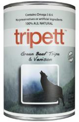 PetKind Tripett 無穀物狗罐頭 - 牛肉及鹿肉配方 14oz