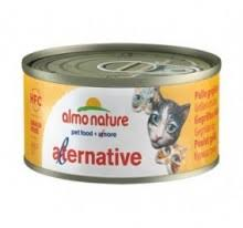 Almo Nature Alternative 烤火雞肉貓罐頭-70g