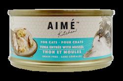 Aimé Kitchen 吞拿魚配青口 Tuna with Mussel 貓罐 85g