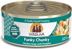Weruva Funky Chunky 大大塊雞柳+南瓜+元氣雞湯 貓罐頭 3oz