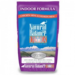 Natural Balance室內貓配方貓糧Indoor Ultra chicken Meal & Salmon Meal6磅