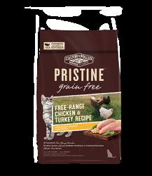 PRISTINE 無穀物全貓糧 – 放養雞 火雞配方 6lb