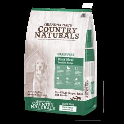 Country Naturals  無穀物 鴨肉防敏 全犬種精簡配 14lb
