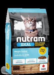 Nutram I12 控制體重配方 貓糧 1.13kg