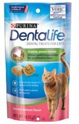 PURINA DENTALIFE CAT TREATS 貓潔齒餅 三文魚味 1.8OZ 到期日: Sept/2021