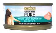 Canidae Pure 無穀物 全犬主食罐頭 雞肉+三文魚 70g x24罐優惠