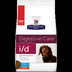 [凡購買處方用品, 訂單滿$500或以上可享免費送貨]  Hills Prescription Diet i/d Digestive Care (細粒) 腸胃處方狗糧 1.5kg