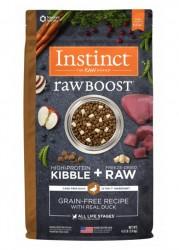 Nature's Variety Instinct 生肉粒 無穀物 鴨肉配方 狗糧 20磅