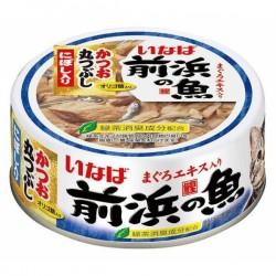 前浜之魚  鰹魚(原條拆肉)+沙甸魚  115g