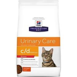 [凡購買處方用品, 訂單滿$500或以上可享免費送貨]  Hill's c/d (Stress) 泌尿道護理 (減壓) 獸醫配方 貓乾糧 1.5kg