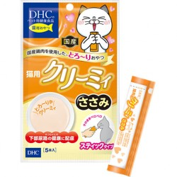 日本DHCペット 貓小食 雞肉醬 尿道健康配方 (10g x 5條) x2包優惠
