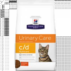 [凡購買處方用品, 訂單滿$500或以上可享免費送貨]  Hill's c/d獸醫配方貓乾糧8.5磅