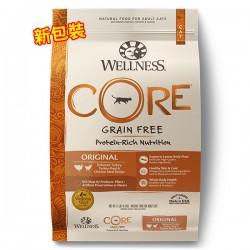 Wellness CORE 火雞拼雞肉配方(無穀物)original 11磅 x6包