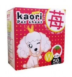 Kaori pet sheets 士多啤梨味尿片 45x60cm 50片 x2包優惠