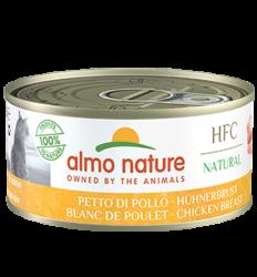 Almo Nature - HFC Natural系列 雞胸 (5122) 貓罐頭 150g