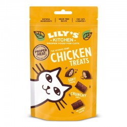 Lily's Kitchen 雞肉貓零食 60g (黃袋)