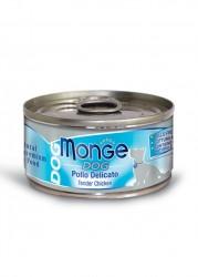 Monge Tender Chicken For Dog 鮮雞肉柳狗罐頭 95g x24
