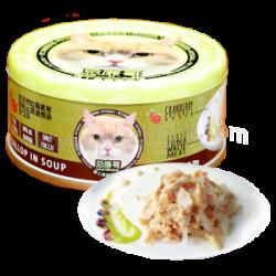 忌廉哥 吞拿魚 + 帶子(元貝) 貓罐頭 70g