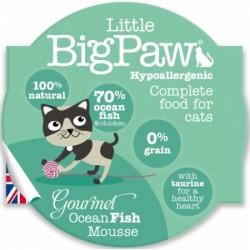 Little Big Paw 傳統大西洋海洋魚貓餐盒 mousse 85g