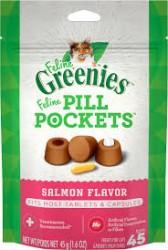 Greenies pill pockets 餵藥輔助貓小食 - 三文魚