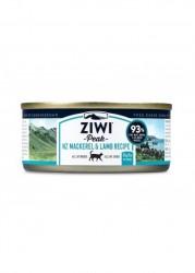 ZiwiPeak巔峰 92%鮮肉貓罐頭 - 鯖魚+羊肉 85g