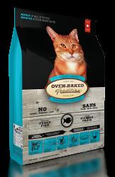 Oven Baked 大西洋白魚配方 (四種魚)5磅 - 有穀物貓糧