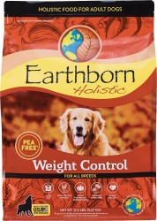 Earthborn Holictic - 無穀物雞肉、碗豆防敏配方 (體重控制) 26.5磅