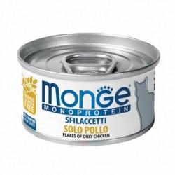 Monge 單一蛋白貓罐頭 - 鮮雞肉 80g x24罐優惠