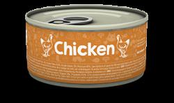 Naturea 無榖物鮮肉貓罐頭 - 鮮雞肉80g