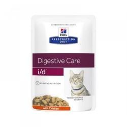 Hill's  i/d  腸胃處方貓濕包 (雞味) 85g x12包優惠