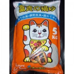 富貴貓砂-薄荷香抗菌幼砂  5KG