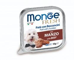 Monge Fresh 牛肉 狗餐盒100g