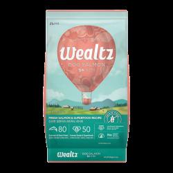 Wealtz 全年齡犬配方 - 鮮三文魚、超級食物食譜 (粉紅) 1.2Kg