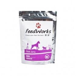 Feed Works 鮮廚 噗噗鴨-鴨肉肉乾小食 80g (無添加, 台灣製造)
