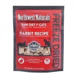 Northwest Naturals 凍乾全貓乾糧 - 兔肉  311g (11oz) x2包優惠