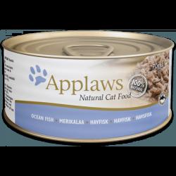 Applaws 天然貓罐頭 海魚 156g x24罐優惠
