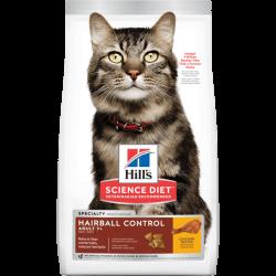 Hill's 希爾思 高齡貓去毛球專用配方 (7+) 7lbs