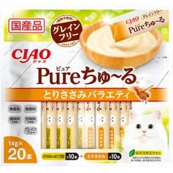Ciao SC-327 雞肉雜錦 (內含20小包)